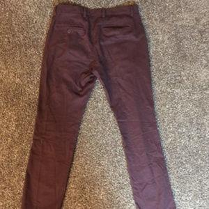 Men's Maroon Pants